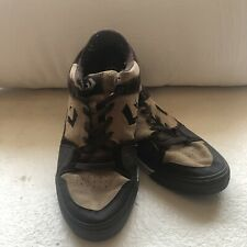 Converse One Star Canvas Skate Sneaker Brown Tan Leather & Suede Mens Size: 11.5