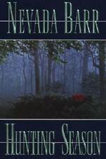 HUNTING SEASON Nevada Barr 1st Edition 2002 Mystery Hardcover & Dust Jacket