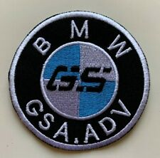 BMW GSA.ADV- Motorcycles Racing Sport  / Embroidered  Iron on Sew on PATCH