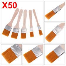 50x Stk Malerpinsel Flachpinsel Pinselset Pinsel Set Streichen Lackiere