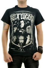 Faces of Lugosi Officially Licensed Universal Monster T-shirt horror halloween