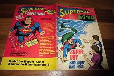 Superman/Batman # 21 del 13.10.1973 // per il compleanno???