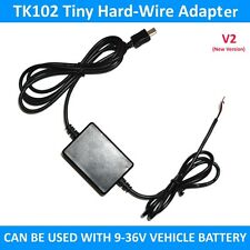 TK102 Tiny GPS TRACKER HARD WIRED CHARGER KIT ADAPTER TK102 BIKE MOTOR CAR V2