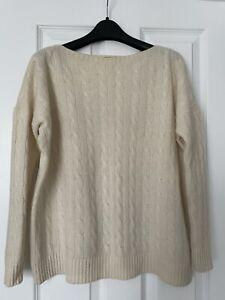 Ralph Lauren Beige Wool Long Jumper Size S