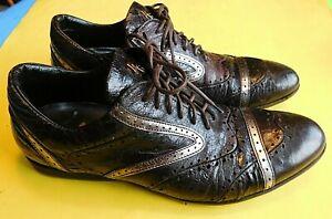 Roberto Cavalli Men's Dress Shoes Brown 9US ( 40Eu ) Italy