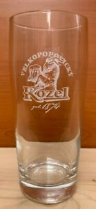 Bicchieri Vetro Pinta Birra Kozel Beer Confezione Cartone Da 6 Pezzi 0,40 Litri