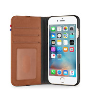 Decoded iPhone 8, iPhone 7, iPhone 6s / 6 Brown Wallet Case D4IPO6WC2BN