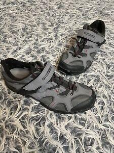 Shimano SH-MT43G Men's Black & Gray Cycling Shoes Size US 10.5 / EU 45