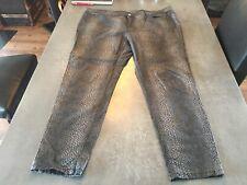 Top-Schmale Stretch Jeans, Sarah Kern,  Animal Print Snake 48