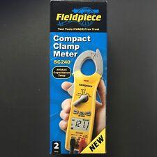 Fieldpiece Compact Clamp Meter SC240