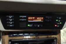 BMW E53 X5 00-06 OEM AC HEATER DIGITAL CLIMATE CONTROL UNIT, P# 8 378 615 18PINS
