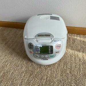 Zojirushi NS-ZCC10 5.5 Cup 1 L Neuro Fuzzy Rice Cooker and Warmer - White