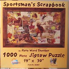 SPORTSMAN'S SCRAPBOOK BY KATE WARD THACKER (Complete) SUNSOUT PUZZLE