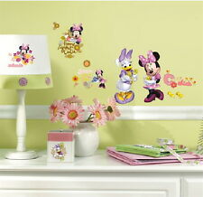 Disneys Minnie Mouse Barnyard Cuties Peel & Stick Wall Stickers Appliques SEALED