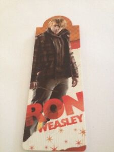 {Harry Potter} Ron Weasley Magnetic Bookmarks Free postage