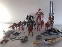 Power Rangers Action Figures Bundle toys Job Lot Kids childrens figure Set