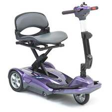 NEW Automatic Electric Folding Portable Lightweight Mobility Scooter Purple
