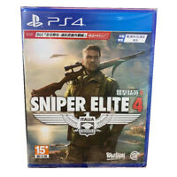Sniper Elite 4 PlayStation PS4 English Chinese Factory Sealed