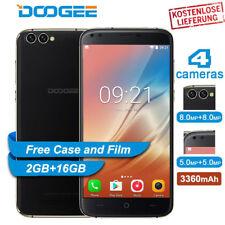 GPS OTA 3G Smartphone Ohne Vertrag Android 7.0 Handy 2GB+16GB 5.5'' DOOGEE X30