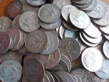 1967-1969 USA Silver Kennedy Halves-40% Silver Bullion Coins