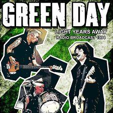 GREEN DAY - LIGHT YEARS AWAY/RADIO BROADCAST 1994   CD NEW!