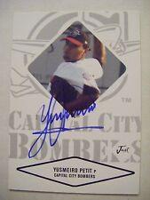 YUSMEIRO PETIT signed GIANTS 2014 WSC 2004 Just Minors baseball card AUTO ANGELS