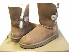 UGG Bailey Button chestnut Damen Boots us11/uk9.5/eu42