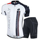 Men's Cycling Bike Short Sleeve Clothing Set Bicycle Sports Suit Jersey + Shorts