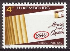 Luxembourg 1980, Introduction of postcodes VF MNH, Mi 1016