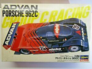 "Hasegawa 1:24 Scale ""ADVAN"" Porsche 962C Model Kit - New - Kunimitsu / Dickens"