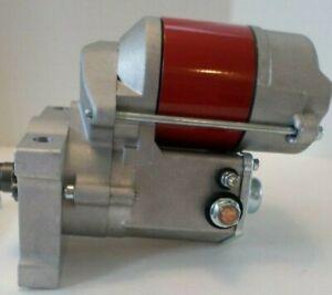 OLDSMOBILE PONTIAC Denso Style HI-PERFORMANCE RED MINI STARTER 1.9 HP 166 TOOTH