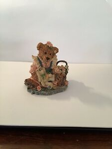 """Boyds Bears & Friends The Bearstone Collection Bailey & Wixie """""""
