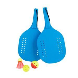 Wooden Pickleball Paddle Set | Beginner Racket | Pickle Ball Paddles w/2 Pad
