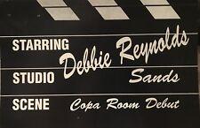 SANDS CASINO- VIP CONCERT INVITE PROMO- DEBBIE REYNOLDS- ATLANTIC CITY, NJ