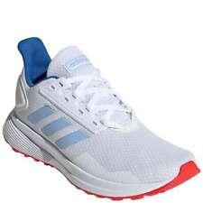 Adidas Boy's Duramo 9 - Cloud White/Glow Blue/Active Red - Running Shoes - Sz: 3