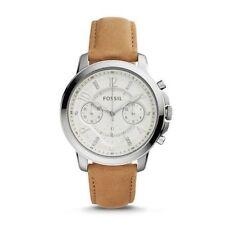 Fossil Women's ES4038 'Gwynn' Chronograph Crystal Brown Leather Watch