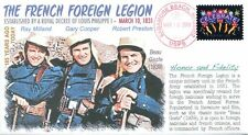 """COVERSCAPE computer designed 185th anniversary of """"French Foreign Legion"""" cover"""