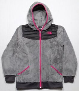 The North Face Oso Hoodie Fleece Jacket Girls Youth Large 14-16