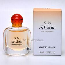 Armani SUN DI GIOIA Eau de Parfum 5 Ml 0.17 Oz Perfume Miniature New in Box