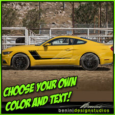 Custom Hockey Stripes - FITS 2016 2018 2019 2015 & up Ford Mustang GT 1