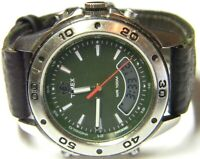 mens Timex Expedition Indiglo Digital LCD Analog Chronograph Watch 930 PP