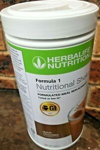 Herbalife Nutrition Formula 1 Meal Replacement Dutch Chocolate Flavour 560 gram