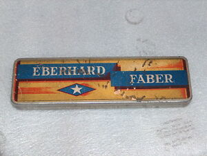 VINTAGE EBERHARD FABER TIN BOX FOR PENCILS, GERMANY