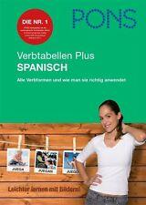 PONS Verbtabelle Plus Spanisch von Maria Engracia Lopez Sanchez, Pilar Perez Canizare und Carlos Segoviano (2012, Taschenbuch)
