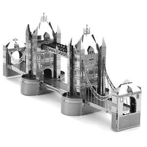 Fascinations Metal Earth London Tower Bridge 3D Laser Cut Steel Puzzle Model Kit