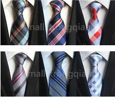 Classic Mens JACQUARD WOVEN stripe Silk Tie Necktie Wedding Party Usher gifts