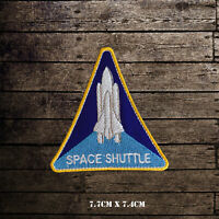 NASA Space Shuttle USA Badge Embroidered Iron On Sew On Patch Badge