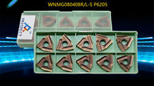 MGGN200-R P6205 2mm carbide inserts For Stainless steel 10pcs