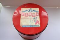 Clown Mini Marshmallows Tin Vintage