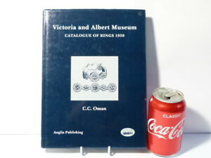 1993 Victoria & Albert Museum Catalogue of Rings 1930 Book by C.C. Oman